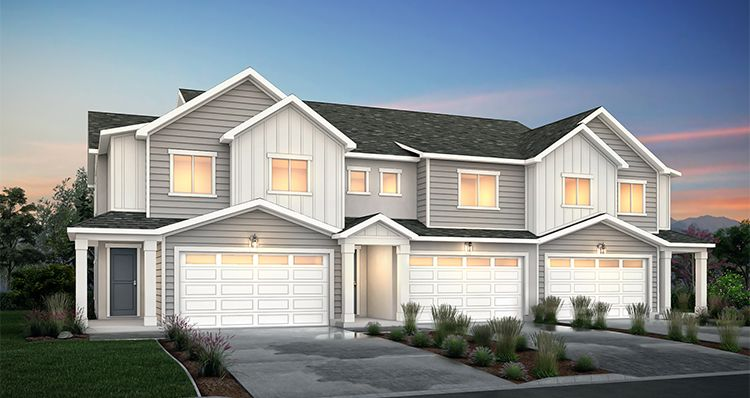 Elevation:Woodside Homes - Berkeley - SPE