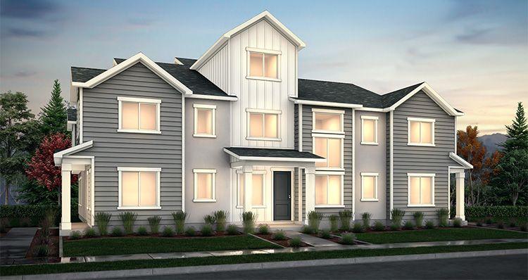 Elevation:Woodside Homes - Lot 6 - Buchanan