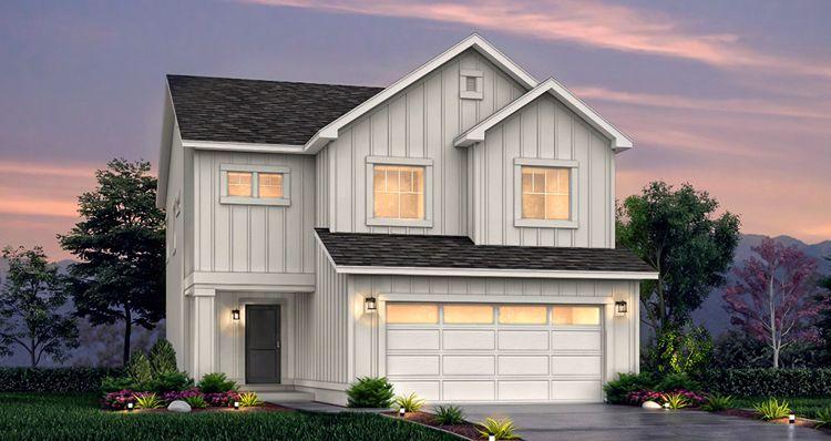 Elevation:Woodside Homes - Lot 527 - Boxelder