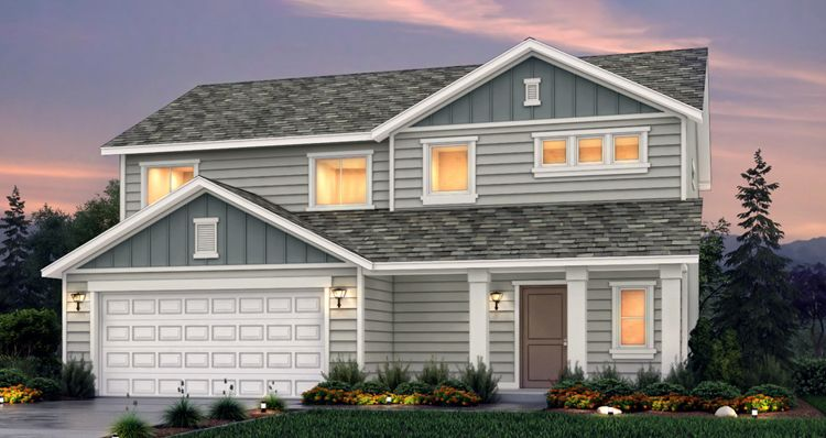 Elevation:Woodside Homes - Lot 2740 - Amesbury
