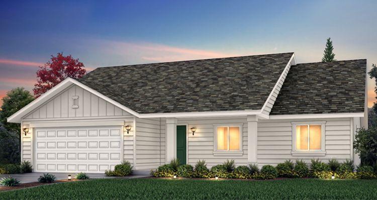 Elevation:Woodside Homes - Lot 557 - Gala