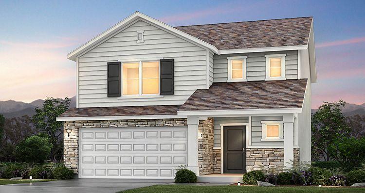 Elevation:Woodside Homes - Lot 9937 - Spruce