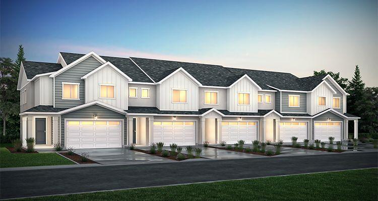 Elevation:Woodside Homes - Lot 122 - Cornell