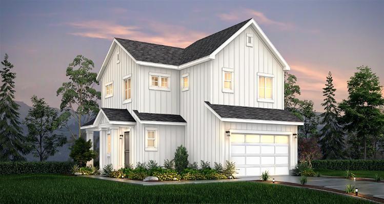 Elevation:Woodside Homes - Lot 7 - Maple