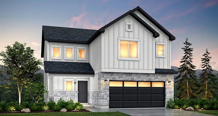 Elevation:Woodside Homes - Gambel Oak - SLB