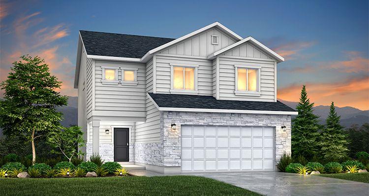 Elevation:Woodside Homes - Birch - SLB