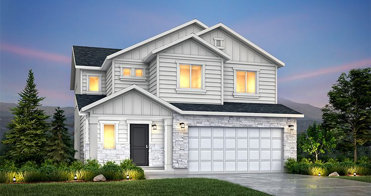 Elevation:Woodside Homes - Sycamore - SLB