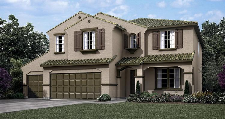 Elevation:Woodside Homes - Teton w/Bonus
