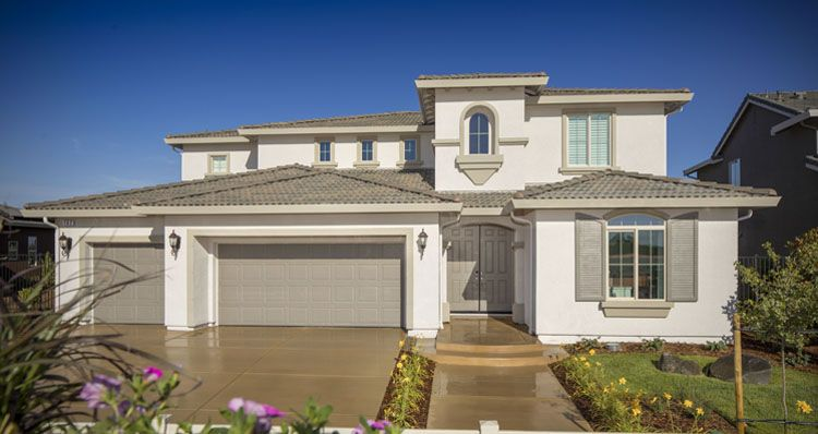 Elevation:Woodside Homes - Olympia