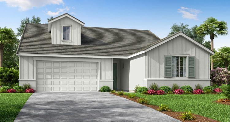 Elevation:Woodside Homes - Maple