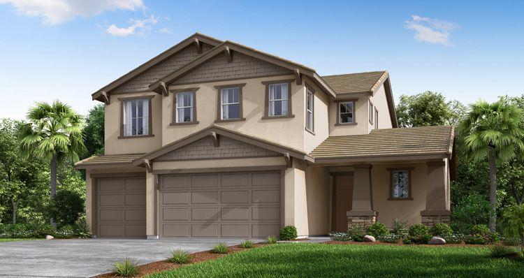Elevation:Woodside Homes - Evergreen