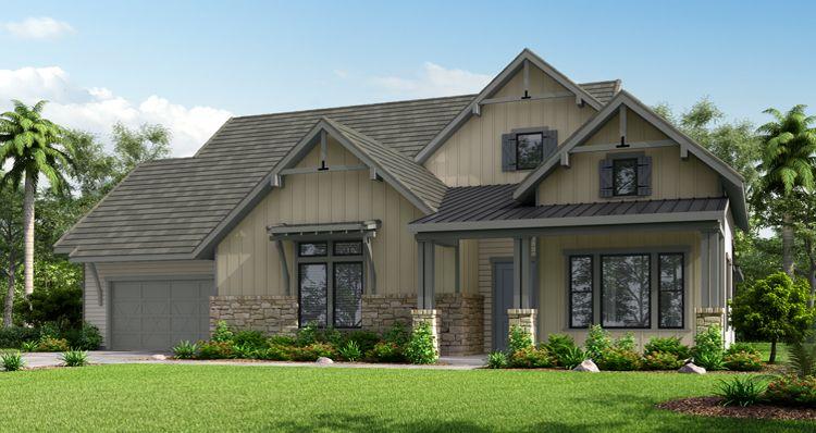 Elevation:Woodside Homes - The Oak Barn