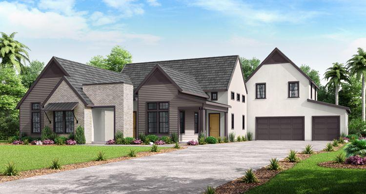 Elevation:Woodside Homes - The Mill Cottage w/ Bonus