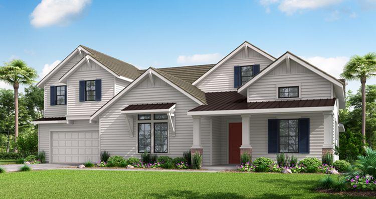 Elevation:Woodside Homes - The Oak Barn w/ Bonus