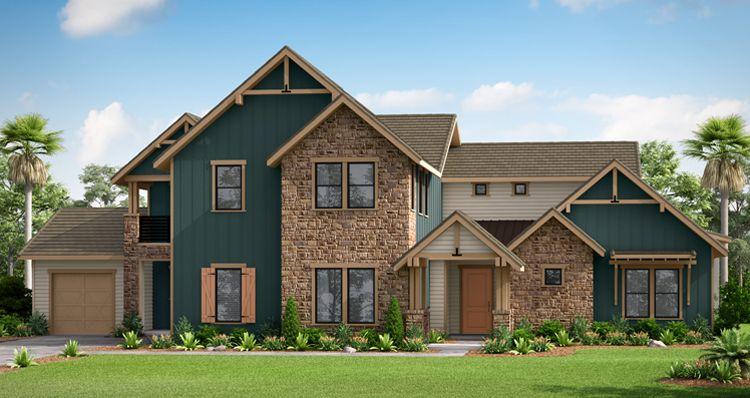 Elevation:Woodside Homes - The Orchard House w/ Bonus