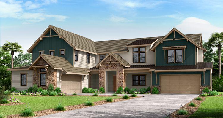 Elevation:Woodside Homes - The Highfield w/ Bonus