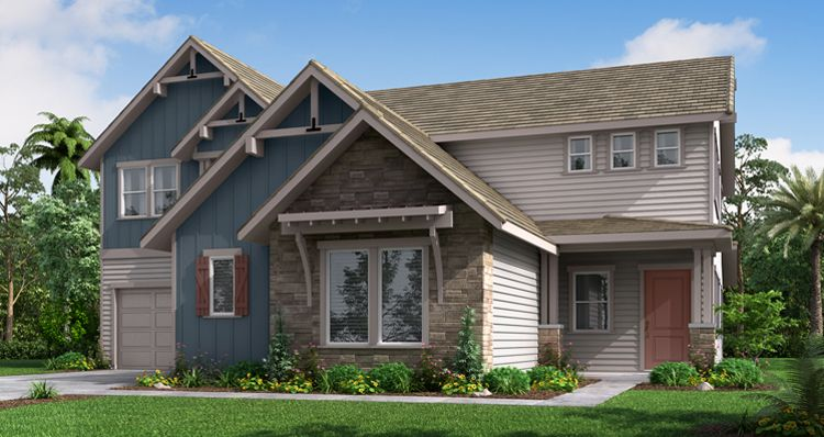 Elevation:Woodside Homes - The Sun Porch