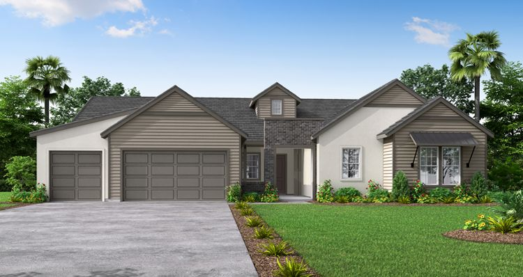 Elevation:Woodside Homes - The Beaumont