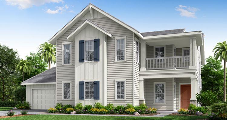 Elevation:Woodside Homes - The Chateau w/ Bonus