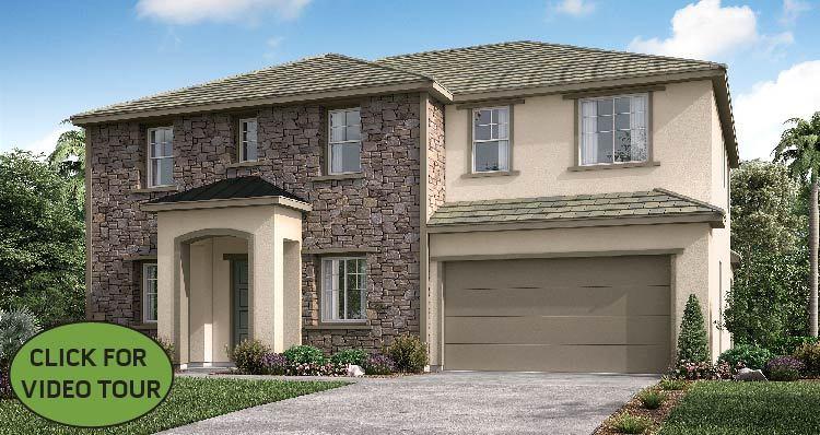 Elevation:Woodside Homes - Marigold