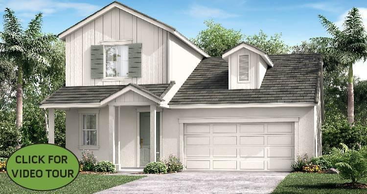 Elevation:Woodside Homes - Cecily