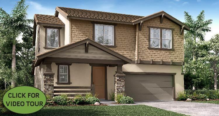 Elevation:Woodside Homes - Flynn