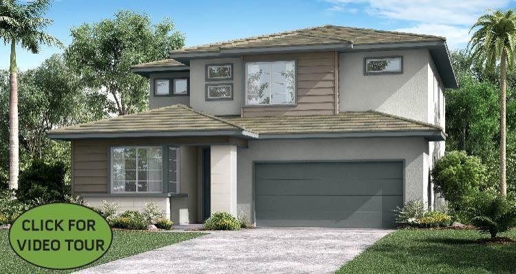 Elevation:Woodside Homes - Bianca