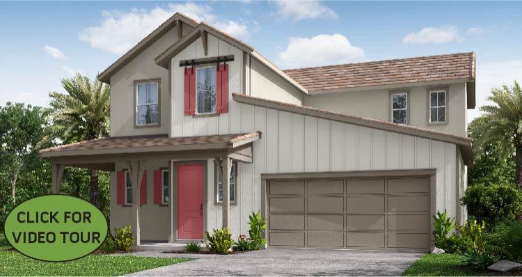 Elevation:Woodside Homes - The Iris