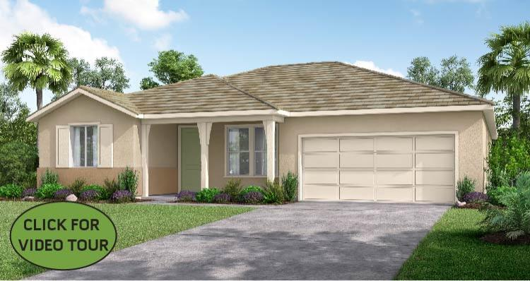 Elevation:Woodside Homes - The Azalea