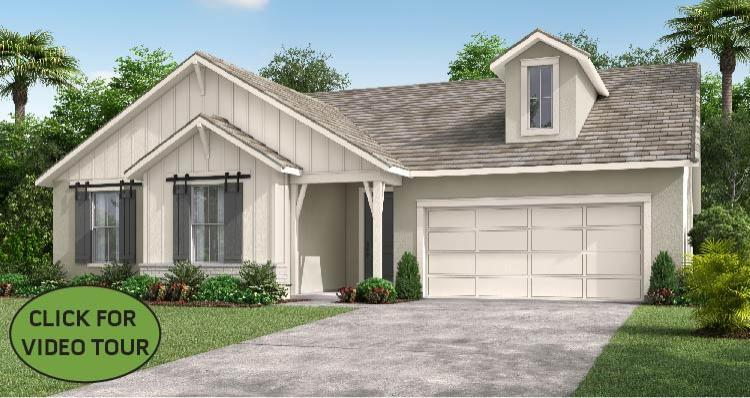 Elevation:Woodside Homes - The Gardenia