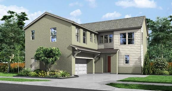Elevation:Woodside Homes - Move in July - Nova Lot 179