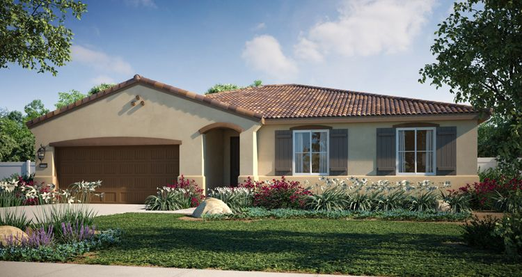 Elevation:Woodside Homes - Sky View Plan 1