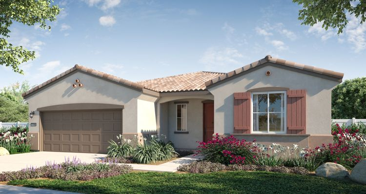 Elevation:Woodside Homes - Sky View Plan 4 Home +