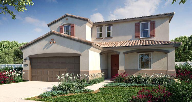 Elevation:Woodside Homes - Sky View Plan 5 Home +