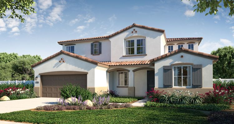 Elevation:Woodside Homes - Sky View Plan 6 Home +