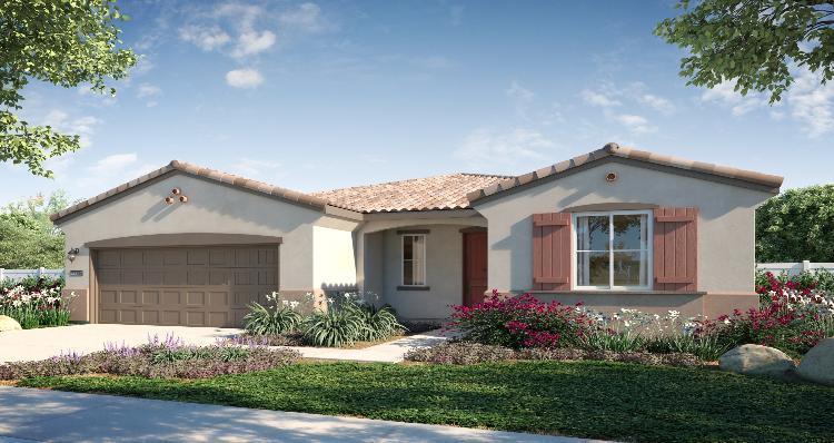 Elevation:Woodside Homes - Plan 4
