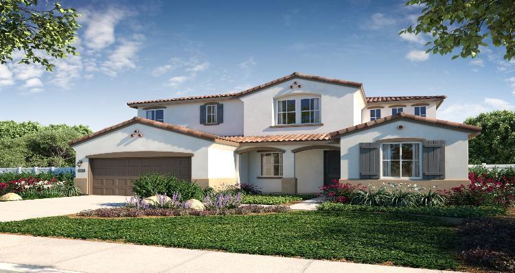 Elevation:Woodside Homes - Plan 6