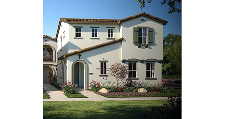 Elevation:Woodside Homes - Plan 2
