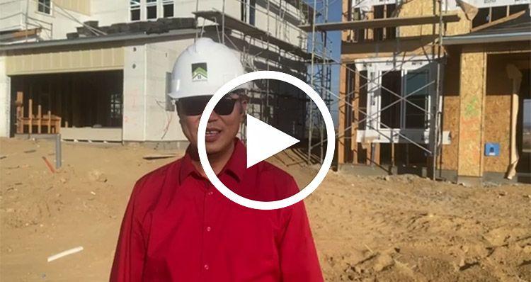 Elevation:Woodside Homes - Plan 3B - Lot 64 -Nov Move In