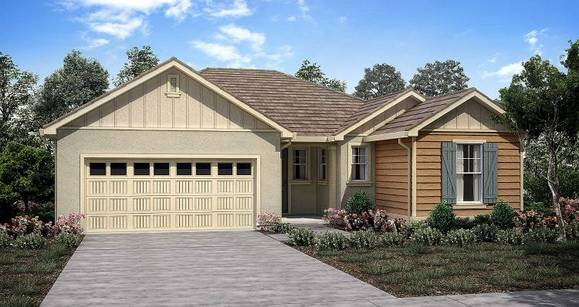 Elevation:Woodside Homes - Bristol Plan 1