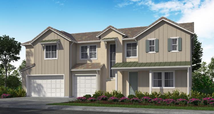 Elevation:Woodside Homes - Plan 3-D #39
