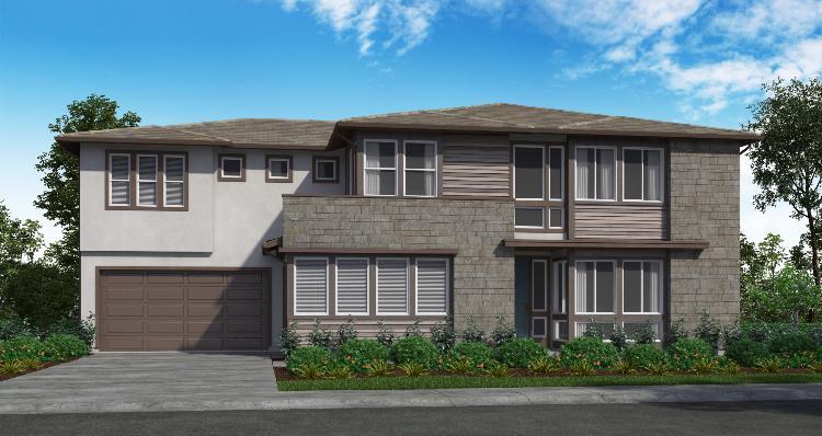 Elevation:Woodside Homes - Plan 4-C #38