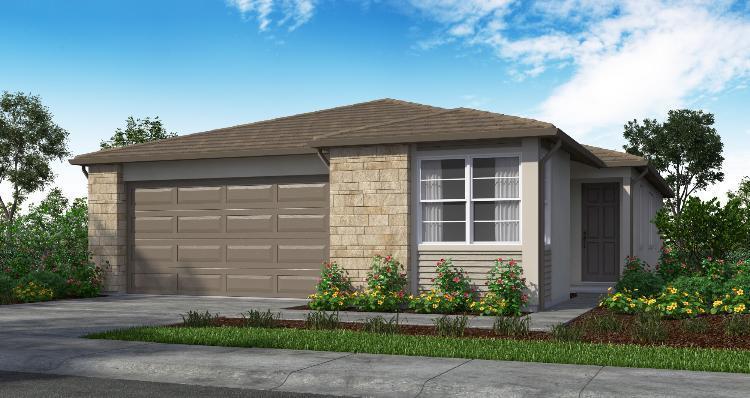 Elevation:Woodside Homes - Plan 1 - 1726