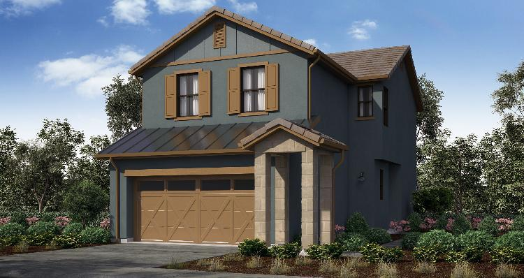 Elevation:Woodside Homes - Plan 2