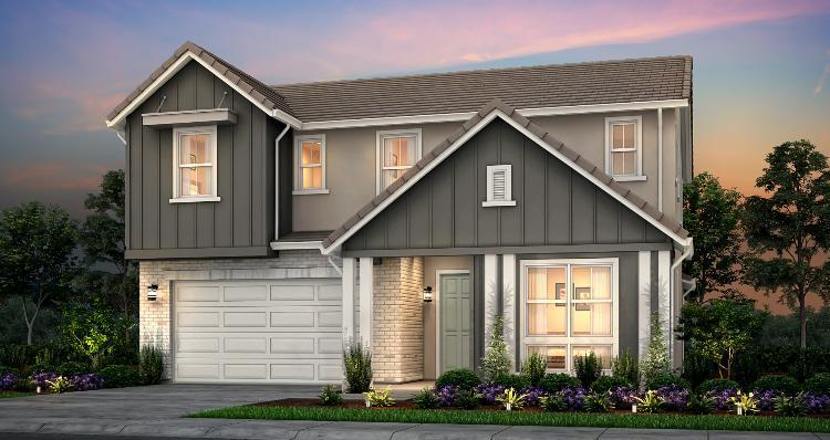 Elevation:Woodside Homes - Plan 4