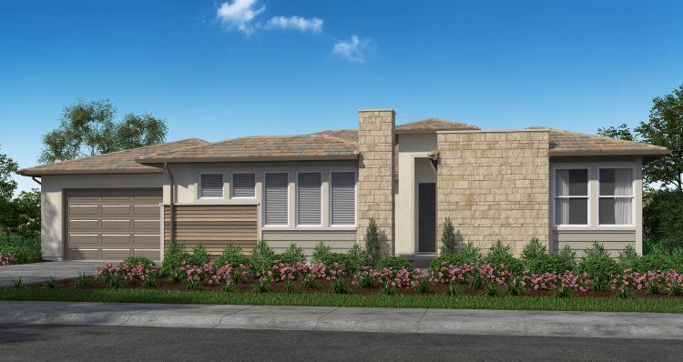 Elevation:Woodside Homes - Plan 4-C #172