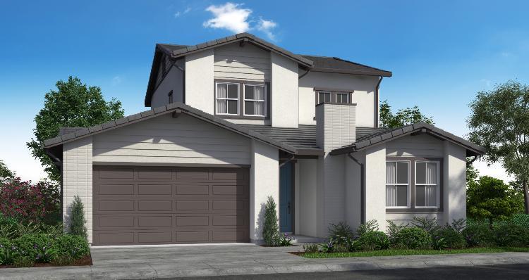 Elevation:Woodside Homes - Plan 3-B #120