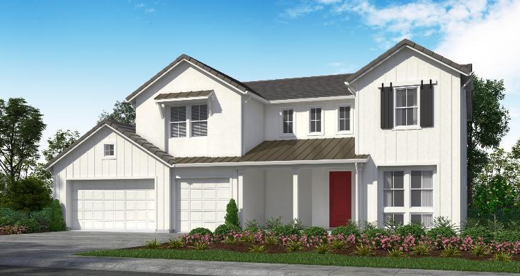 Elevation:Woodside Homes - Plan 1-D #15
