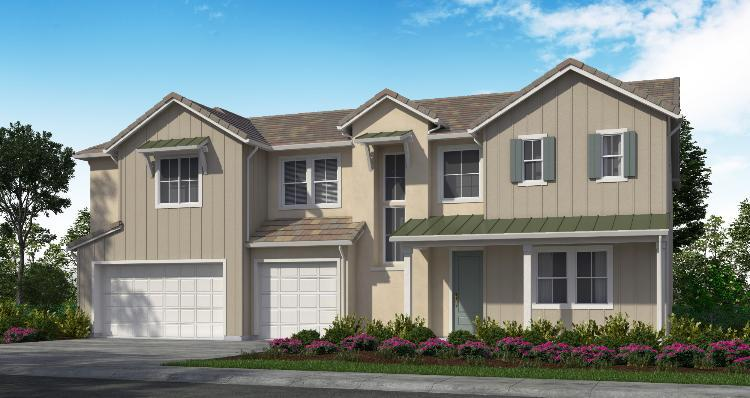 Elevation:Woodside Homes - Plan 3-D #26