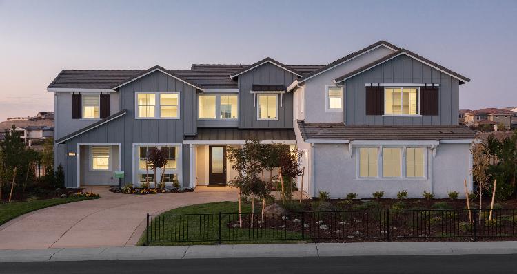 Elevation:Woodside Homes - Plan 2-D #10